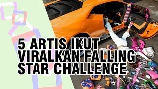 Berikut 5 Artis Ternama yang Ikut Viral kan Falling Star Challenge