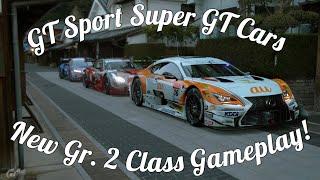 GT Sport Super GT Gameplay! All 3 Cars @ Tsukuba