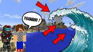 PLÁŽOVÉ DOMY VS TSUNAMI !!! - Minecraft Challenge w/ Vendali