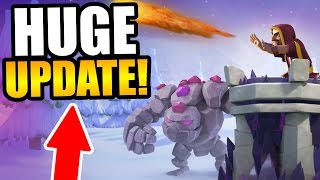 HUGE NEW UPDATE CHANGES IN CLASH OF CLANS  SO MANY NEW CHANGES
