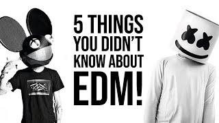 5 THINGS YOU DIDNT KNOW ABOUT EDM! (ELECTRONIC DANCE MUSIC TRICKS)