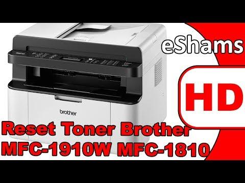 Reset Toner Brother MFC 1910W MFC 1810