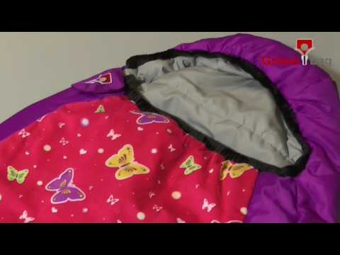 Kinderschlafsack Kids Grow Butterfly von Grüezi Bag