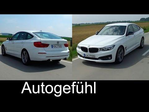 New BMW 3-Series GT 340i Gran Turismo neuer 3er GT Preview Exterior/Interior