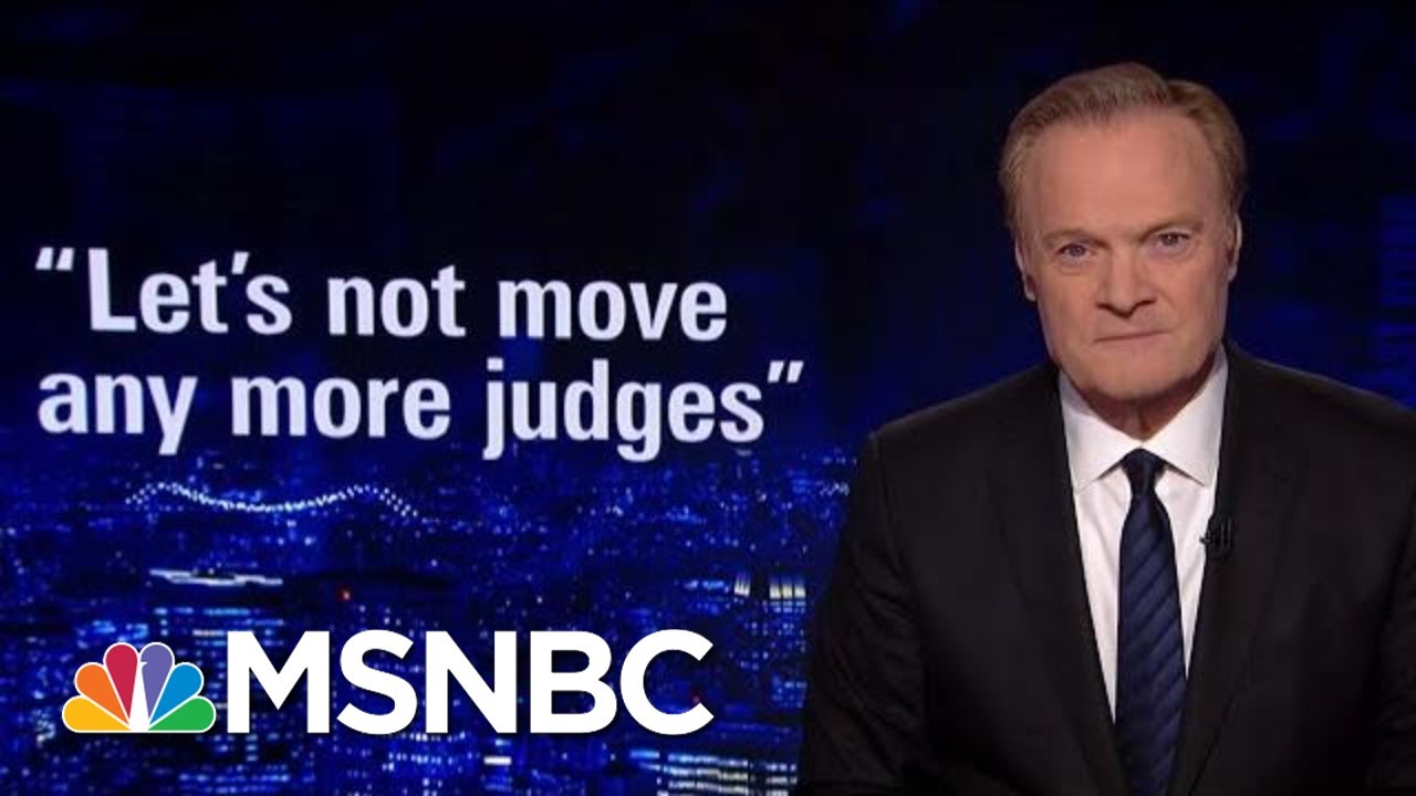 Lawrence: One Senator Could Block Donald Trump's Supreme Court Pick | The Last Word | MSNBC thumbnail