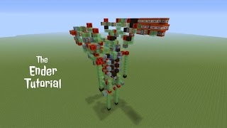 The Ender Tutorial - Weaponized Tactical Slime Block Mech Suit in Minecraft