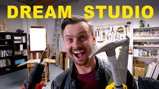 Building A Dream Art Studio