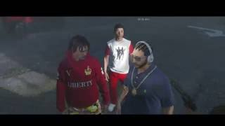 GTA 5 BLOODS VS CRIPS PART 1 [HD]