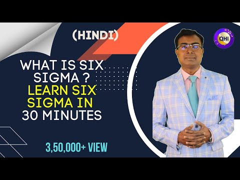 What is Six Sigma ?Learn Six Sigma in 30 minutes- Video by Quality Hub India (Hindi)