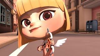 Cupid(큐피드)-마음에 드는 남자를 발견한 큐피드의 선택은..?-청강 애니메이션 2016년 졸업작품(animation)