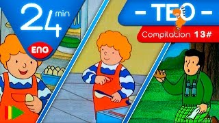 TEO | Collection 13 (Teo and the food) | Full episodes for kids | 24 minutes