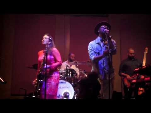 Jessy J - Silent Night (Live) ft. Maurice Smith