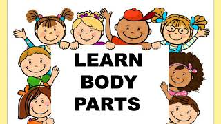 BODY PARTS/ LESSON PLAN ON BODY PARTS/ KINDERGARTEN/LETS LEARN BODY PARTS.