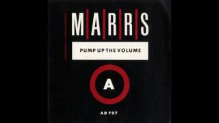 Gambar cover MARRS - Pump Up the Volume (C-G'S Journey Into Sound Edit Mix)