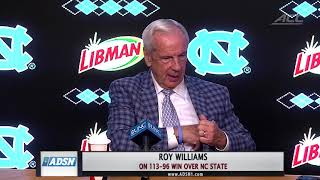 Tar Heels Roll Past Wolfpack in Classic Rivalry (VIDEO)
