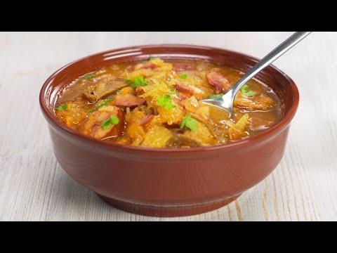 , title : 'Kapustnica - Czech Cabbage Soup. Recipe by Always Yummy!