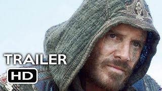 Assassins Creed Official Trailer 3 2016 Michael Fassbender Marion Cotillard Action Movie HD