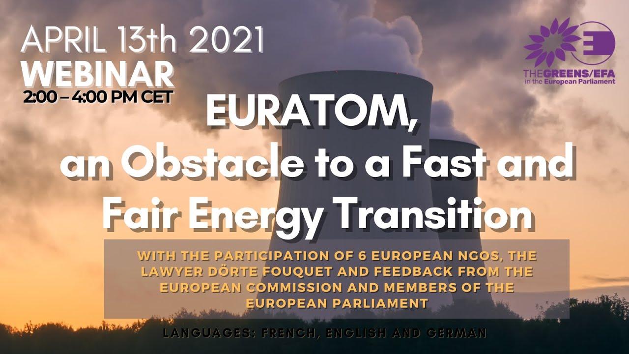 EURATOM: UN OBSTACLE À UNE TRANSITION ÉNERGÉTIQUE SÛRE ET EFFICACE ?