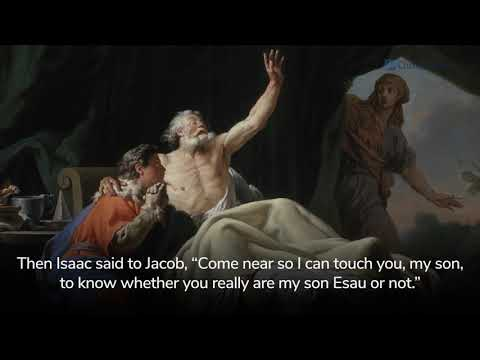 Genesis 27- 28:9: Jacob Gets Isaac's Blessing | Bible Story (2020)