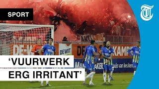 Leemans snapt vechtpartij: 'Ajax-fan hoort in eigen vak'