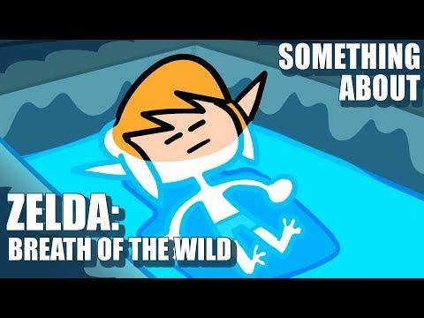 Something About Zelda Breath of the Wild ANIMATED SPEEDRUN❤️❤️🖤 ANY% 04:11 (no amiibo) WR