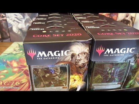 Download MTG Core Set 2020 All Planeswalker Decks Opened!!! Mp4 HD Video and MP3