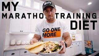 My Marathon Training Diet | FULL DAY OF EATING