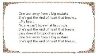 Chris Cummings - The Kind of Heart That Breaks Lyrics