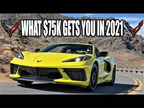 Building the ULTIMATE 2021 Mid-Engine C8 Corvette Coupe! What 75K gets you.