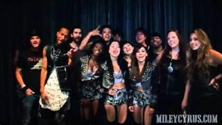 Danseurs & musiciens du GH s'adressent aux fans - 25/06/11