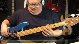 Genesis No Son Of Mine Bass Cover With Notes & Tablature