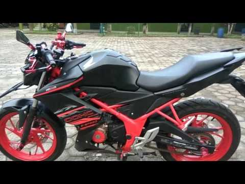 Video Modifikasi Honda cb150r 2016 #PART 1