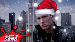 Santa Sings A Song (Eminem Parody)
