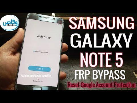 How to Unlock Samsung Galaxy Note 5 SM N9208 Google Account (Fix FRP