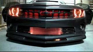 Chevrolet Camaro, 2010 Camaro Amber LED Night Rider Scanner Bar from Advanced Automotive Concepts