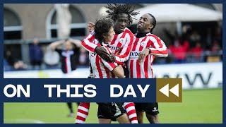 On This Day - Emnes schiet Sparta Rotterdam 'Zlatan-style' langs Feyenoord