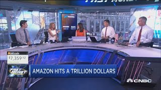 Amazon hits a trillion dollars, but just how much longer can its amazing run last?
