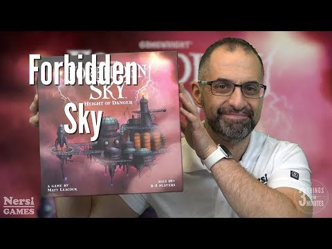3 Things in 3 Minutes: Forbidden Sky Review