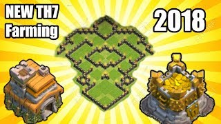 Coc Th7 Trophy And Farming Base Free Online Videos Best Movies Tv