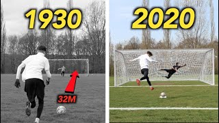 How have PENALTY KICKS Evolved from 1900 to 2021? – THE EVOLUTION OF FOOTBALL