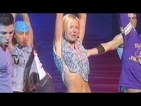 Geri Halliwell - It's Raining Men - Brian Conley Show (2001)