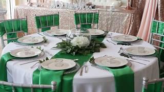 Emerald Green Tablescape Inspiration