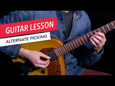 Learn How to Use Alternate Picking | Guitar | Lesson | Beginner | Tim Miller | Berklee Online