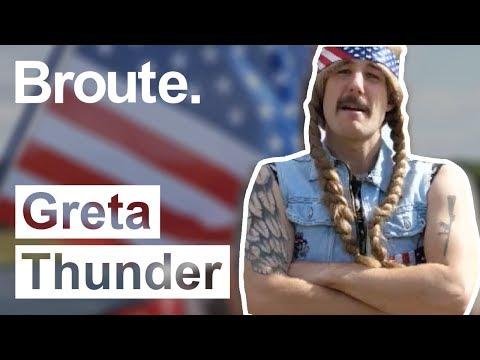 Greta THUNDER, le climato-sceptique - Broute