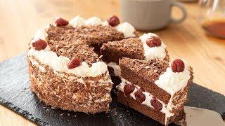フォレノワールの作り方 Black Forest Cake|HidaMari Cooking