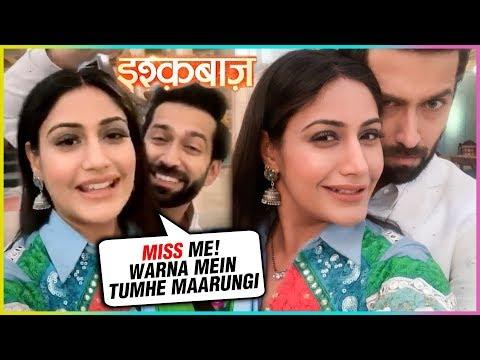 Surbhi Chandna Says Final GOODBYE To Ishqbaaz