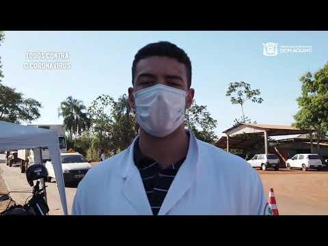 Coronavírus: sanitária orientativa em Dom Aquino