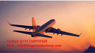 Get king air ambulance services in Bokaro and Jamshedpur