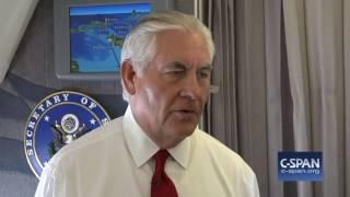 Secretary Tillerson statement on North Korea (C-SPAN)
