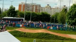 Традиционные соревнования по велоспорту-вмх г. Москва, финал, девушки 13-14 лет
